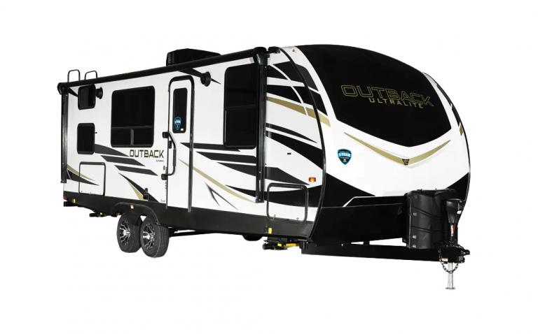 keystone outback ultra lite travel trailer exterior