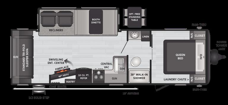 keystone hideout travel trailer 27rls