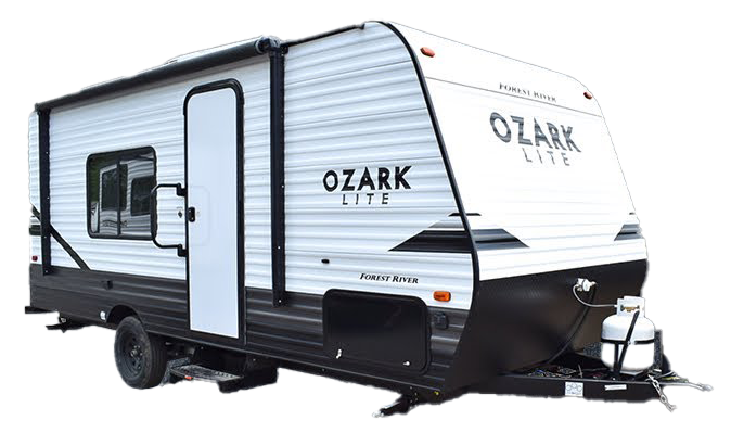 forest river ozark travel trailer