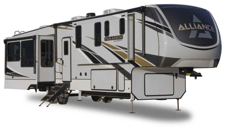 alliance paradgim fifth wheel