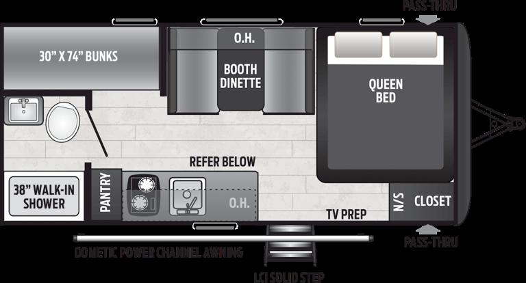 keystone hideout travel trailer 175bh