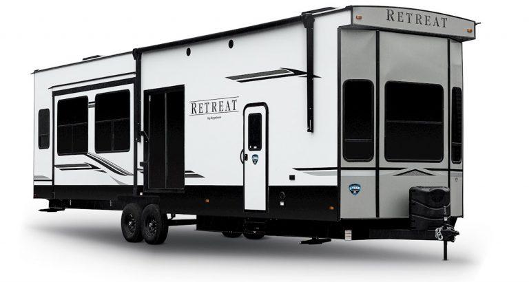 keystone retreat destiination travel trailer