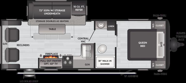 keystone hideout 253rl travel trailer